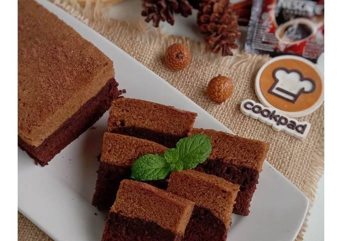 Brownies Kukus Tiramisu