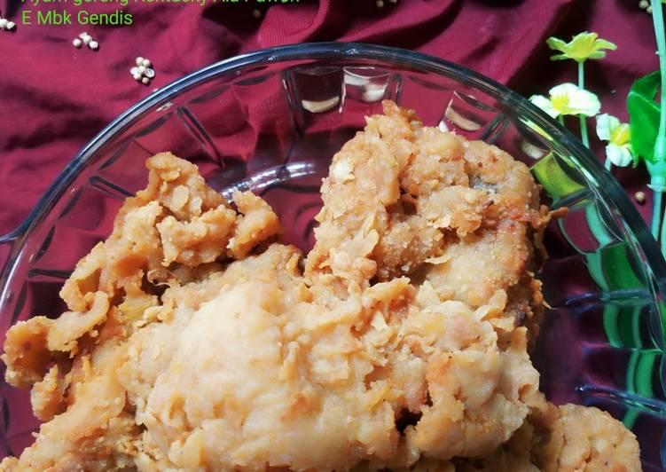 Ayam goreng Kentucky Ala dapur'E mbk GendiS