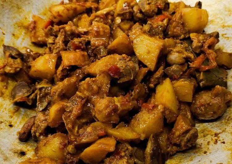 Sambel goreng ati kentang pedasss