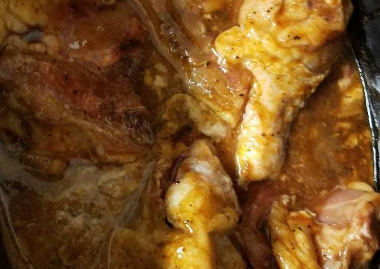 Crockpot BBQ Quick and Easy Chicken