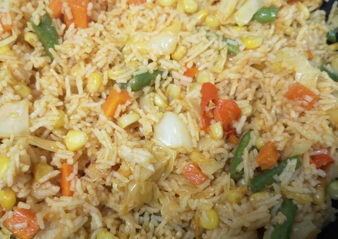 Nasi Goreng Vegetarian Aummm