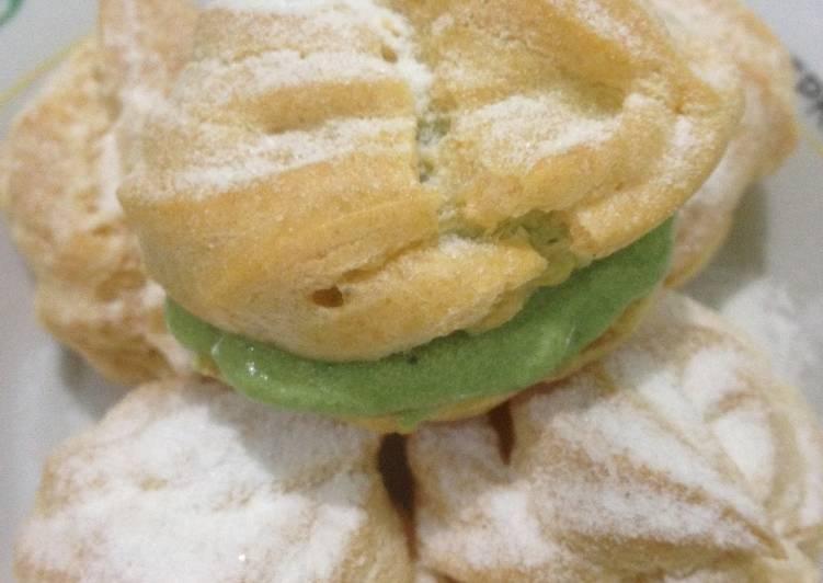 Cream puff aka kue soes/kue sus