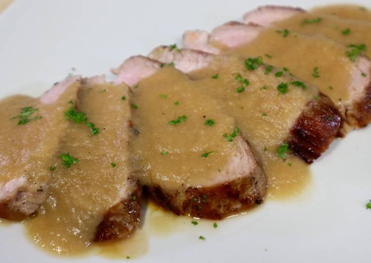 Solomillo De Cerdo En Salsa De Manzana Receta De