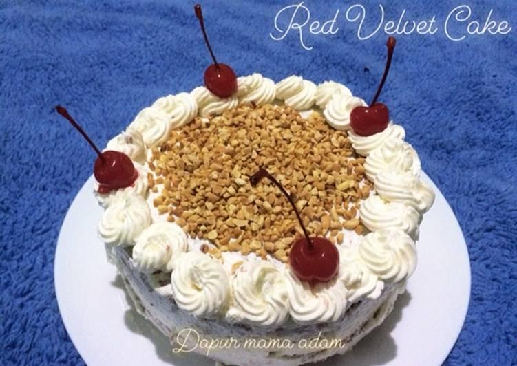 Red Velvet Cake - cookandrecipe.com