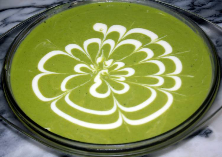 Recipe of Most Popular Summer Pea Soup