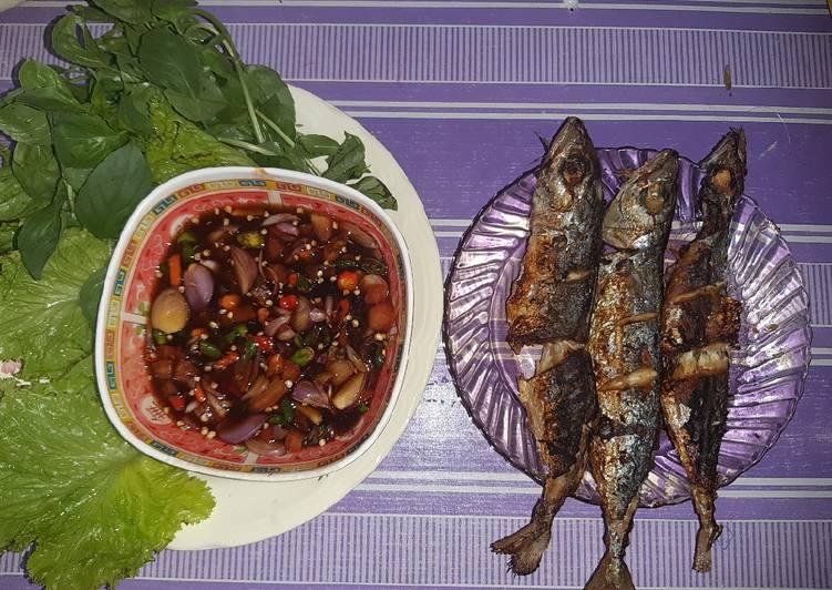 Ikan bakar happycall sambal colo-colo enaakkk
