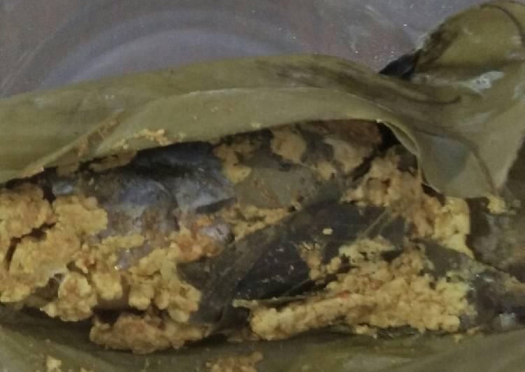 Pepes ikan laut selimut tahu ala diabetes
