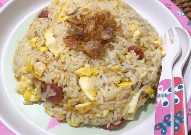 Resep #8 Nasi Goreng Mentega untuk anak-anak 🍚 Paling Gampang