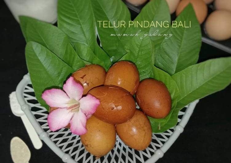 Resep Telur Pindang Bali Oleh Mamah Galang Cookpad
