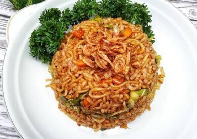 Nasi Goreng Mawut Bumbu krengsengan(instant)