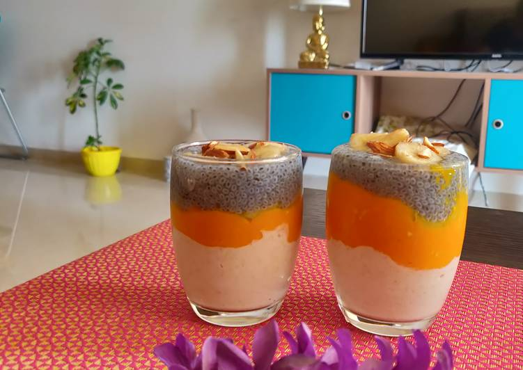 Top 100 Dinner Ideas Favorite Oats mango smoothie