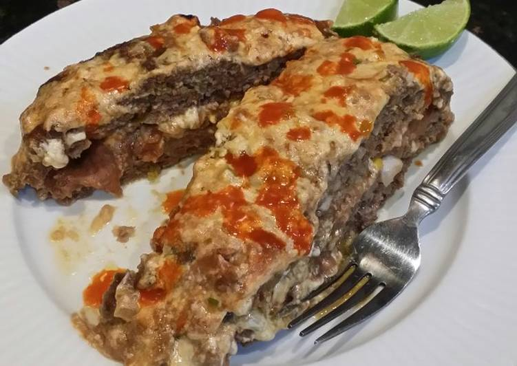 Recipe: Perfect Brad's Mexican meat loaf