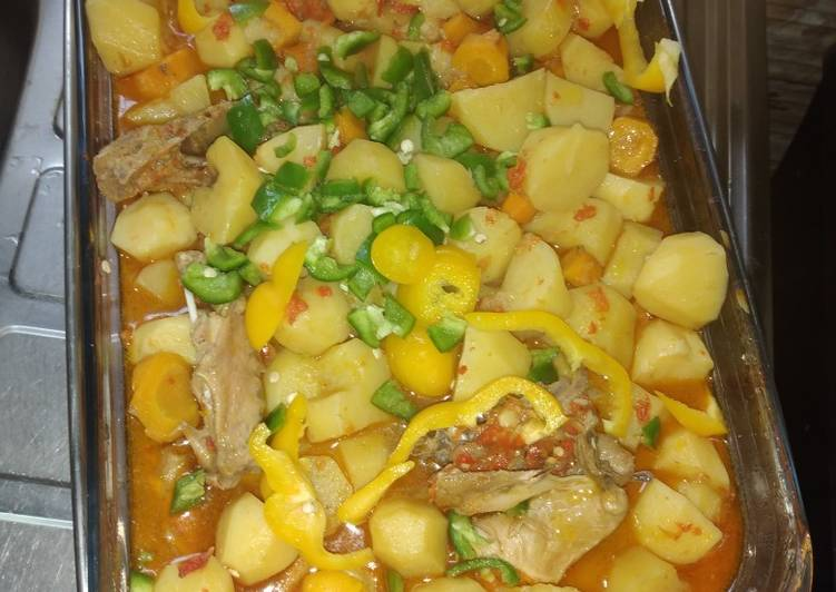 How to Make Speedy Potato casserole
