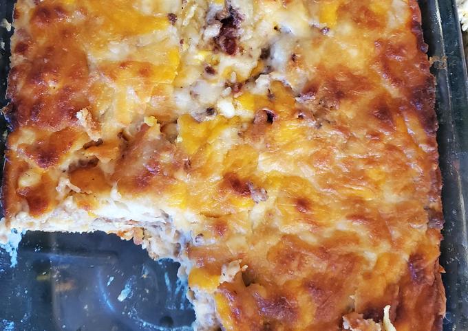 Breakfast Pizza Casserole