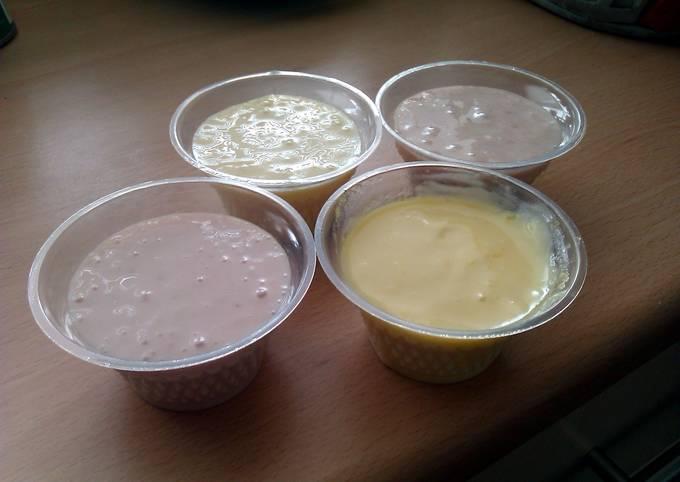 Vickys Homemade Yogurt using Powdered Non-Dairy Milk,  No special equipment