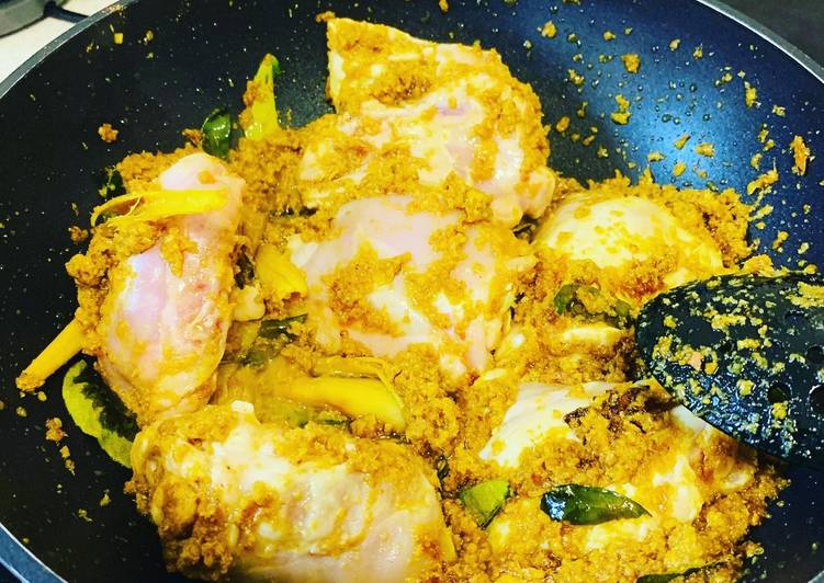 Gulai Ayam (Resep No. 97)