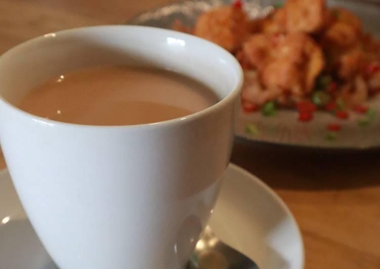 Hongkong Milky Tea || with black tea