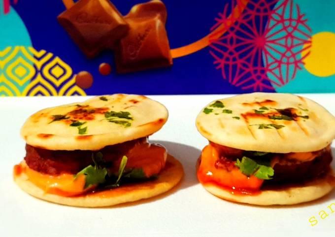 Grilled Mini Kulcha Burger