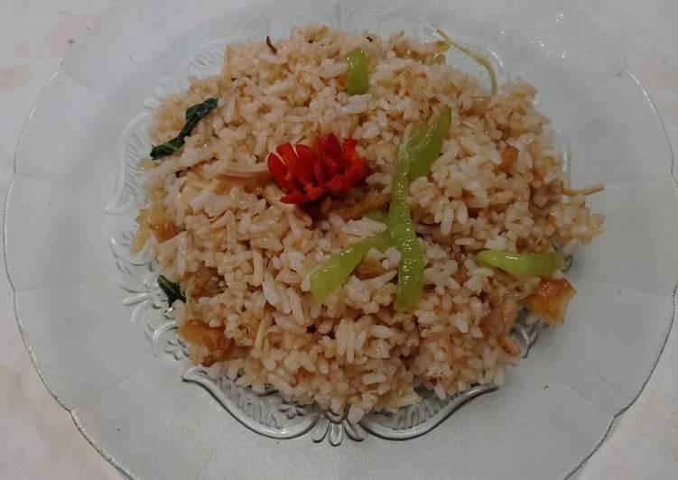 Nasi goreng simple ala rumahan