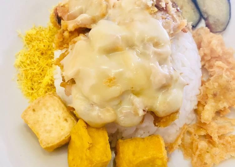 Ayam Geprek Crunchy Mozza