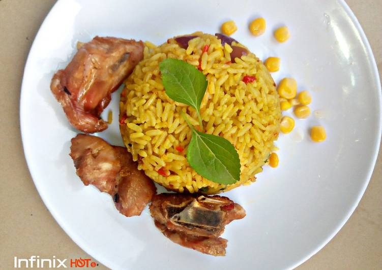 Fried rice with chicken, Quite A Lot Of You May Possibly Not Realize This But Coconut Oil Can Have Great Health Advantages To It