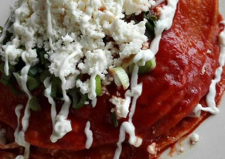 Enchiladas coloradas