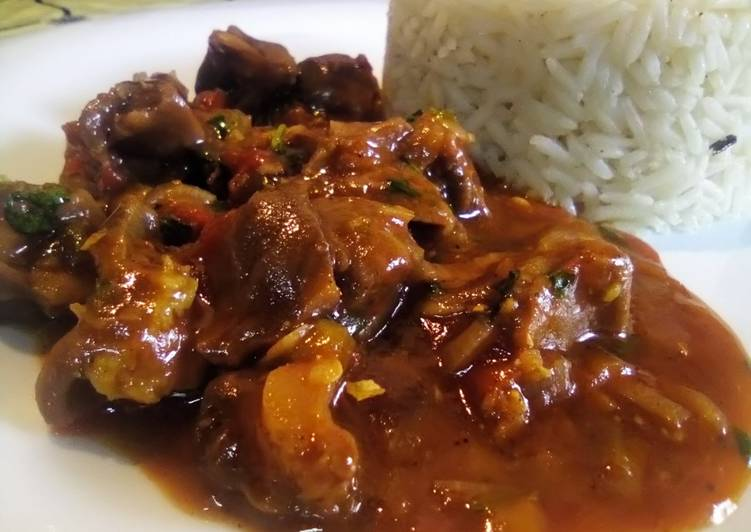 Your Overall Health Can Be Effected By The Foods You Decide To Eat Chicken Gizzards in garlic sauce