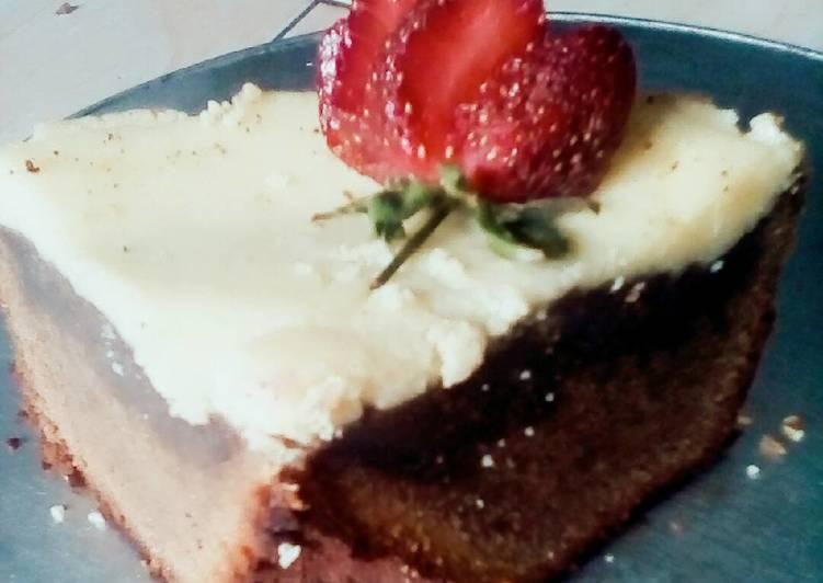 Bolu teflon topping creamcheese