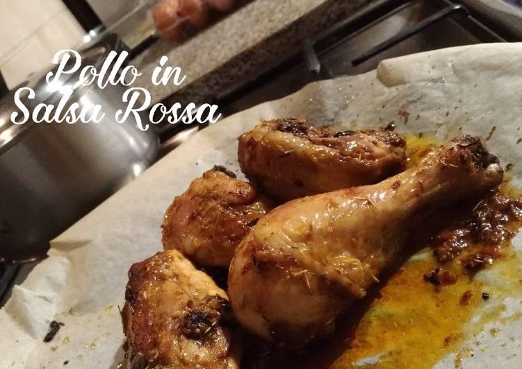 Pollo in Salsa Rossa (Ayam Masak Saus Merah)