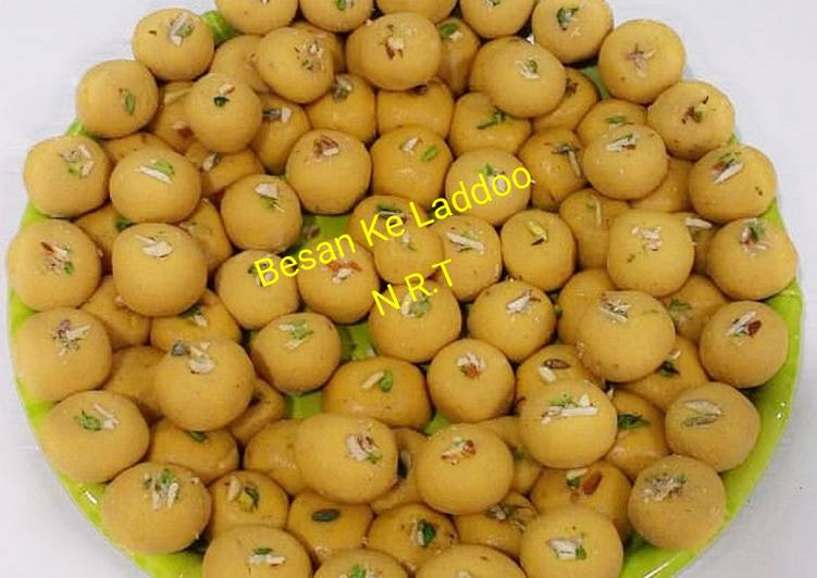 Besan ke Ladoo (Sweet/Mithai), Help Your To Be Healthy And Strong with Food