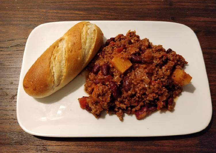 Easiest Way to Prepare Super Quick Homemade Chilli con Carne