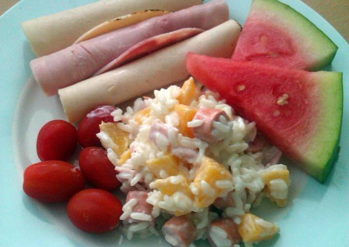 How to Prepare Perfect Vickys Rice Salad, GF DF EF SF NF