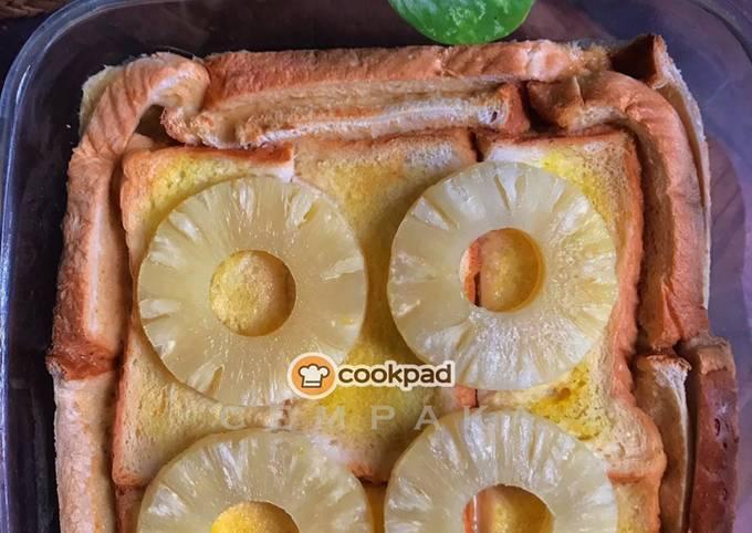 Puding Roti Nenas