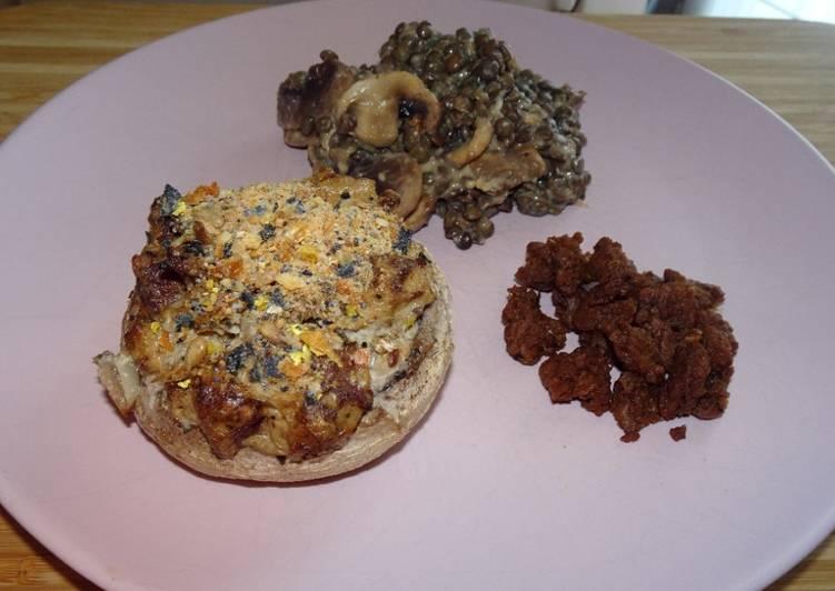 How to Make Yummy Champignons farcis (vegan) (#1recette1arbre #onerecipeonetree #entreeschics)
