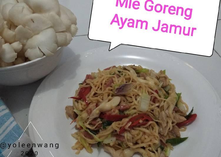 Mie Goreng Ayam Jamur