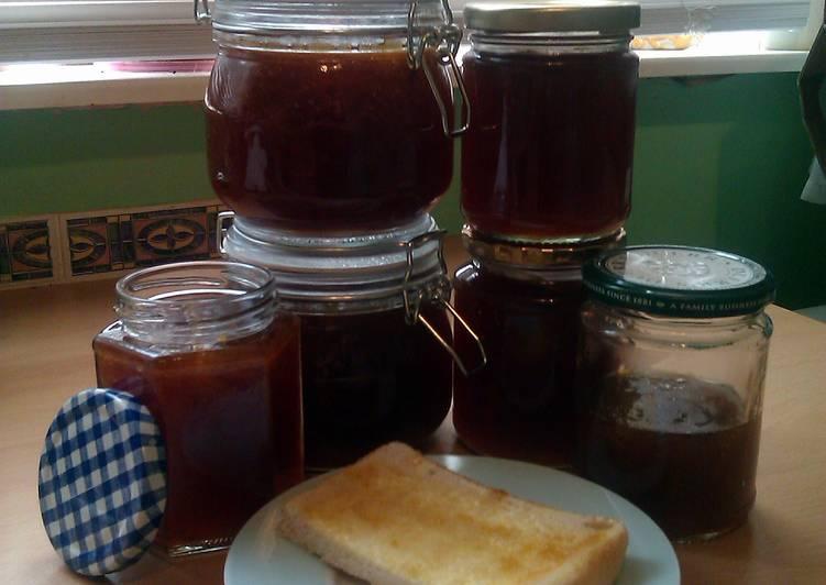 Recipe of Favorite Vickys Homemade Peach Jam, GF DF EF SF NF
