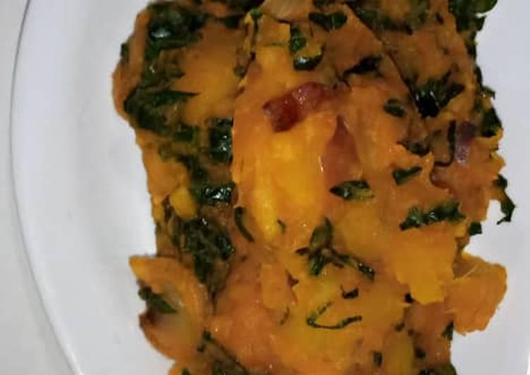 Steps to Make Ultimate Sweet Potatoes porridge
