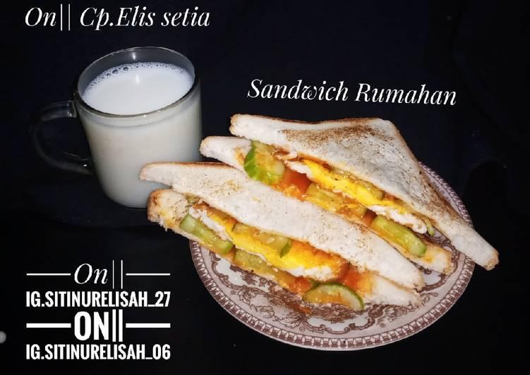 Sandwich Rumahan ala aku