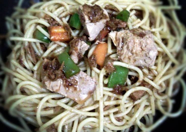 Bagoong Pasta (Shrimp Paste Sauce)