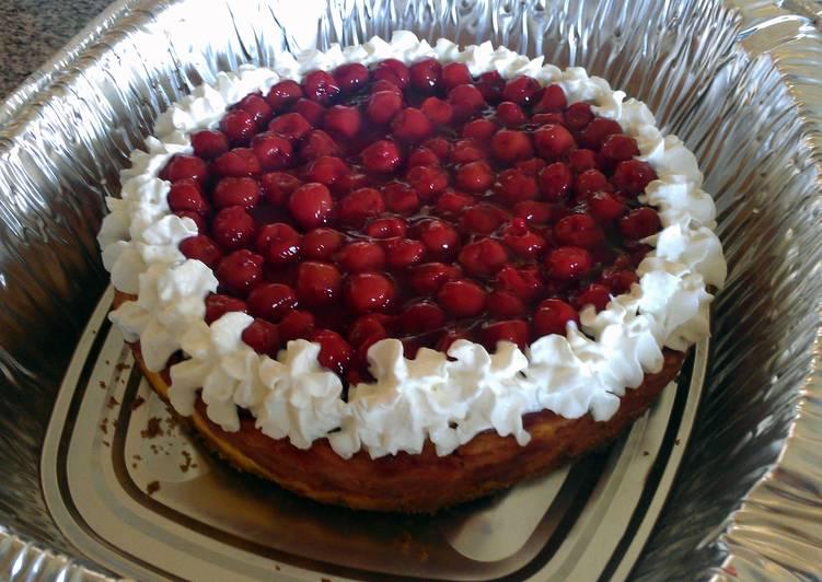 Recipe of Ultimate Cherry Swirl Cheesecake