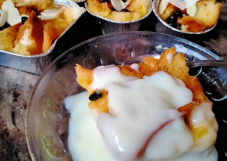 Bread Pudding/puding roti