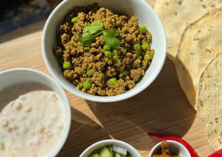 Keema Matar / Minced Lamb & Peas