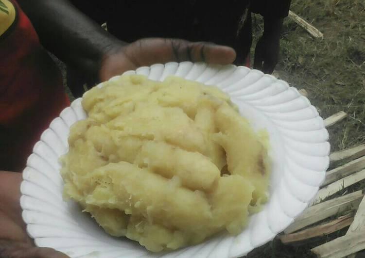 Recipe of Speedy Ndizi mchemsho/ matoke