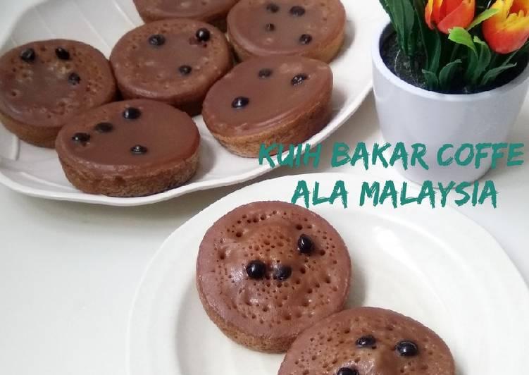 Kuih Bakar Coffe ala Malaysia