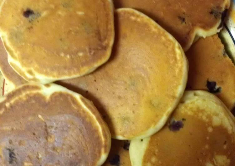 Recipe: Tasty Fluffy Pancakes