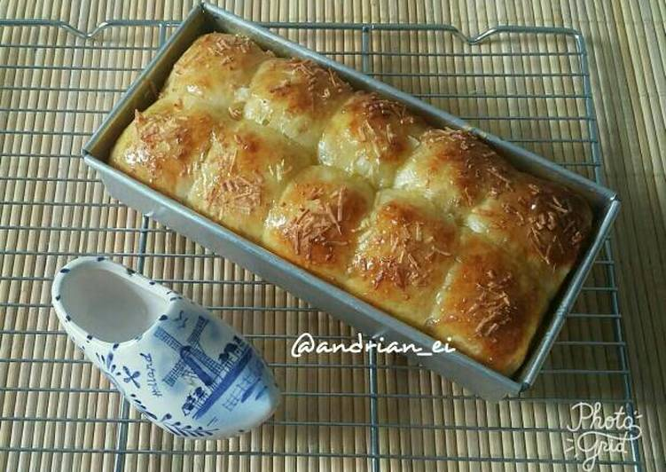 Roti Sobek Keju (Tanpa Ulen)