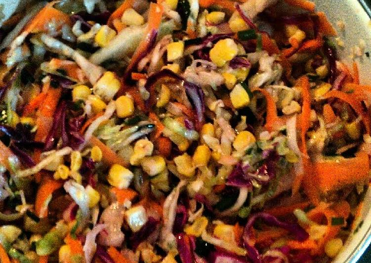 Tinklee's grilled corn slaw