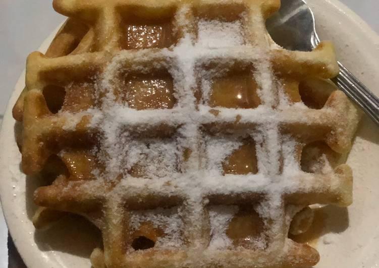Resep Buttermilk Waffle ala Anna Olson Bikin Ngiler