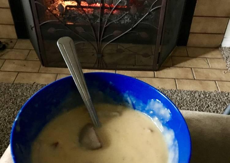 Potato-bacon chowder