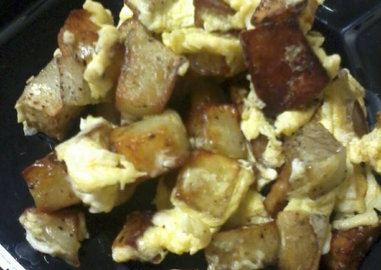 How to Prepare Speedy Potatoes N Eggs*